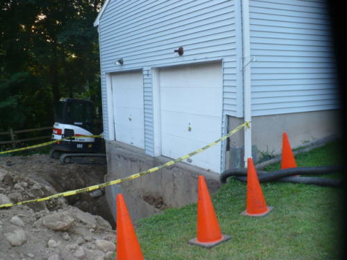 Foundation Stabilization Project in Connecticut