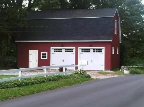 Barn Project in Brookfield, Connecticut